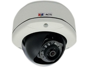 ACTI E75 1.3 Mp Day/Night 720p IR Outdoor IP Dome Camera with 3