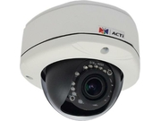 ACTI E88 1.3 MP IR Day/Night Vandal-Resistant Outdoor IP Dome Camera with 2