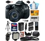 Canon EOS 60D 18 MP CMOS Digital SLR Camera with 18-135mm f/3.5-5