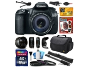 Canon EOS 60D 18 MP CMOS Digital SLR Camera with 18-135mm f/3.5-5.6 IS UD Lens includes 16GB Memory + 2.2x Telephoto + 0