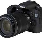 Canon EOS 70D (8469B016) Black Digital SLR Camera with 18-135mm STM f/3.5-5