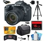 Canon EOS 7D 18 MP CMOS Digital SLR Camera with 18-135mm f/3.5-5