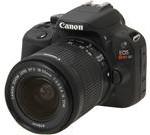 Canon EOS Rebel SL1 (8575B003) Black Digital SLR Camera with 18-55mm IS STM Lens