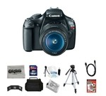 Canon EOS Rebel T3 12.2 MP CMOS Digital SLR Camera with EF-S 18-55mm f/3.5-5