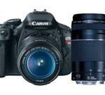 Canon EOS Rebel T3i 18 MP CMOS APS-C Sensor DIGIC 4 Image Processor Digital SLR Camera with EF-S 18-55mm f/3.5-5.6 IS Lens + Canon EF 75-300mm f/4-5