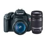 Canon EOS Rebel T3i 18 MP CMOS Digital SLR Camera and DIGIC 4 Imaging with EF-S 18-55mm f/3.5-5.6 IS Lens + Canon EF-S 55-250mm f/4.0-5