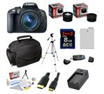 Canon EOS Rebel T5i 18.0 MP CMOS Digital SLR DSLR Camera with EF-S 18-55mm f/3.5-5