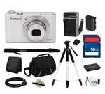 Canon Everything You Need Kit 6799B001 - PowerShot S110 White Approx. 12