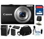 Canon PowerShot A4000 IS (Black) 16