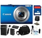Canon PowerShot A4000 IS (Blue) 16
