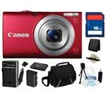 Canon PowerShot A4000 IS (Red) 16