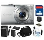 Canon PowerShot A4000 IS (Silver) 16