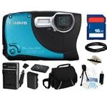 Canon PowerShot D20 Blue, Black 12