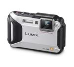 Lumix DMC-TS5 Digital Camera (Silver)