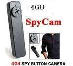 MP-900 Surveillance Tiny Spy Button Camera DV Stick Mini Camcoder Hidden Camera Built in 4GB memory