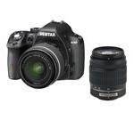 PENTAX K-50 (10905) Black Digital SLR Camera with 18-55mm f/3.5-5.6 and 50-200mm f/4-5