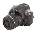 SONY a330 Black Digital SLR Camera w/ DT 18-55mm f/3.5-5