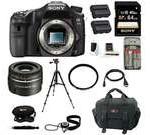 Sony a77 - A77II Digital SLR Camera (Body Only) with Sony SAL30M28 30mm f/2