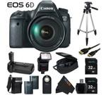 Canon EOS 6D 20.2 MP CMOS Digital SLR Camera with 3