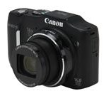 Canon PowerShot SX160 IS 6354B001 Black Approx