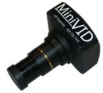 LW Scientific MVC-U5MP-EMTN MiniVID USB 5MP Digital Eyepiece Camera with software