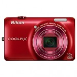 Nikon Coolpix S6300 16 Megapixel Compact Camera - Red - 2
