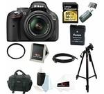 Nikon D5200 24.1 MP CMOS Digital SLR Camera (Black) with 18-55mm f/3.5-5