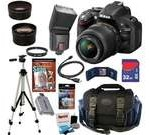 Nikon D5200 24.1 MP CMOS Digital SLR Camera with 18-55mm f/3.5-5