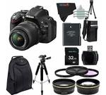 Nikon D5200 24.1 MP Digital SLR Camera with 18-55mm f/3.5-5