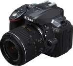 Nikon D5300 1524 Gray Digital SLR Camera with 18-55mm Lens