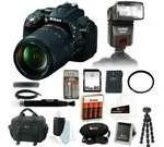 Nikon D5300 24.2 MP CMOS Digital SLR Camera with 18-140mm f/3.5-5