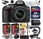 Nikon D5300 24.2 MP CMOS Digital SLR Camera with 18-55mm f/3.5-5