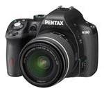 PENTAX K-50 (10894) Black Digital SLR Camera with 18-55mm Lens